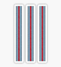 Vintage Martini Racing Stripes Sticker