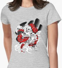 Poison Candy | red Women's Fitted T-Shirt