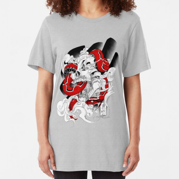 Poison Candy | red Slim Fit T-Shirt
