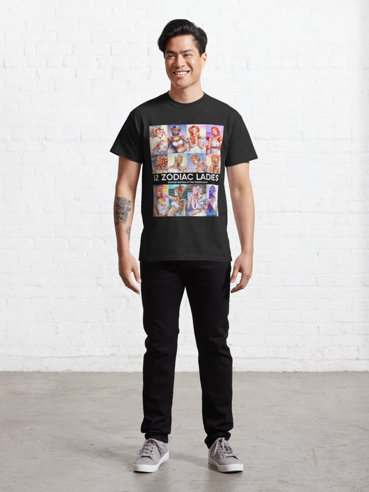 Alternate view of 12 Zodiac Ladies Classic T-Shirt