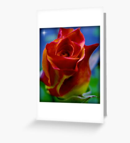 A Flower to a Daughter - LU...K Greeting Card
