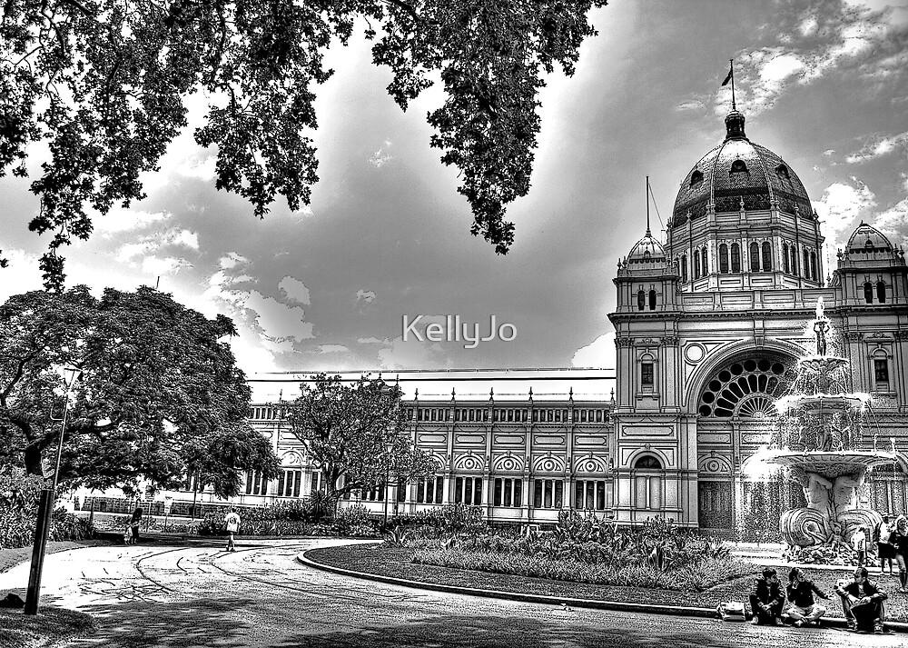 Royal Exhibition Building in Carlton Gardens, Melbourne by KellyJo