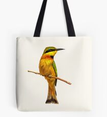 Colorful Little Bee-eater Tote Bag