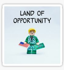 Land of Opportunity Sticker