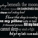Sleep by Kara Salame