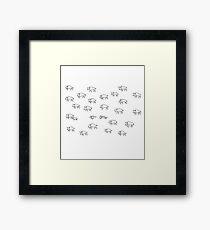 Wolf Hunt Framed Print