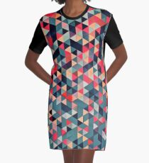 DROP DOWN Graphic T-Shirt Dress