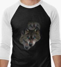 Brave Lone Wolves Men's Baseball ¾ T-Shirt