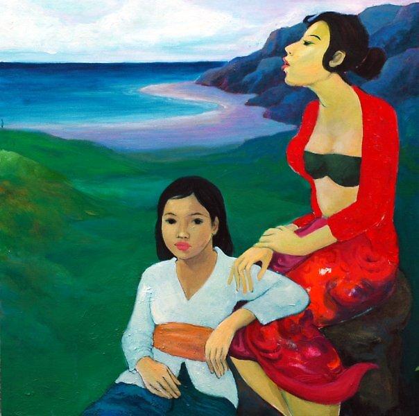 Bersantai di Pinggir Pantai by anggadiandry