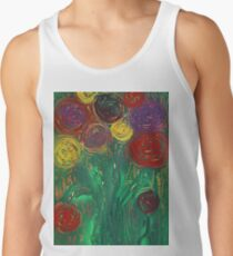 Ghostly Roses Tank Top