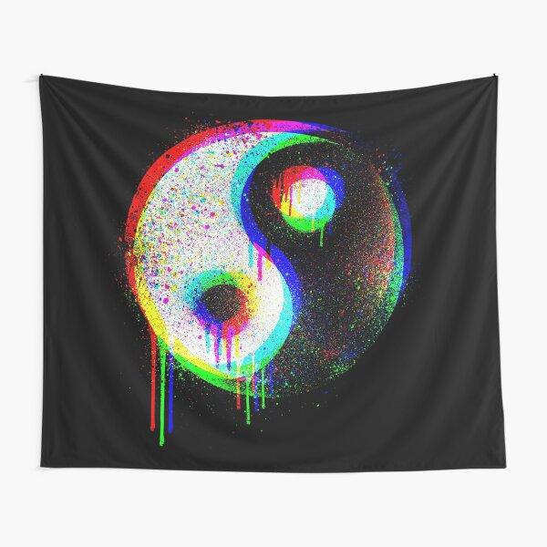 RGB Yin Yang Spektrum Wandbehang