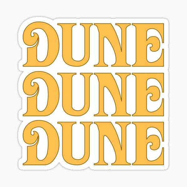 Dune 3 x 1 sticker Sticker