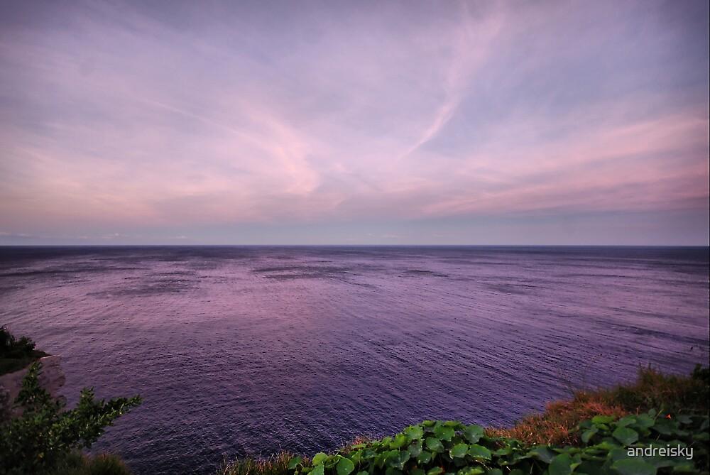 Purple water by andreisky