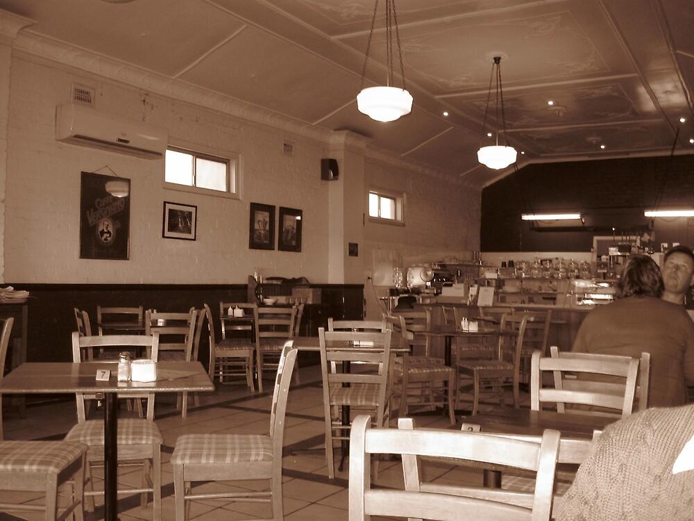 Retro Cafe by Judy Woodman