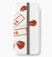 ja wir können iPhone Flip-Case/Hülle/Klebefolie