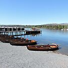 Boats At Waterhead by CreativeEm