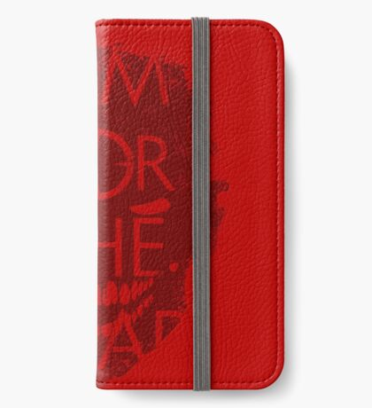 AIM FOR THE HEAD - Zombie advice iPhone Wallet