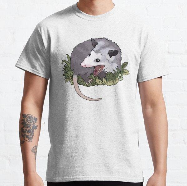 Schreiendes Opossum Classic T-Shirt