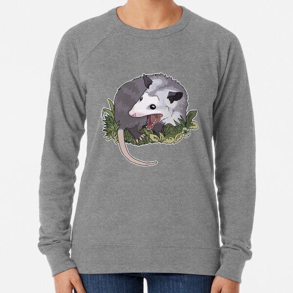 Screaming possum Lightweight Sweatshirt