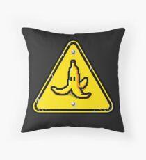 Hazardous roads Throw Pillow