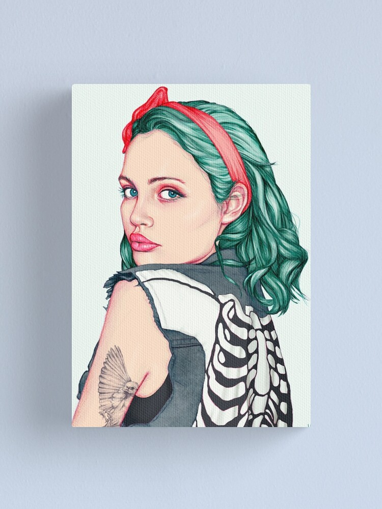 Alternate view of Emerald Canvas Print