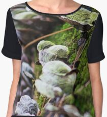 Forest Fungus Chiffon Top