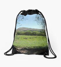 Branches Framing Hills Drawstring Bag