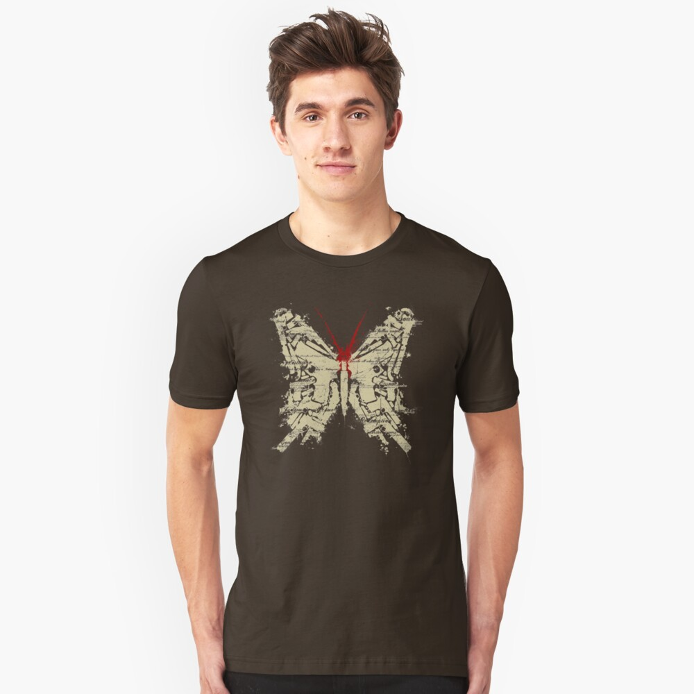 Deadly Species - Butterfly Unisex T-Shirt Front