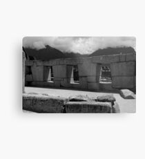 The Temple Of The Three Windows Metal Print