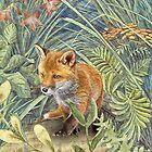 Little Brown Fox. by Rubyblossom