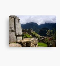 Ancient World of the Incas Canvas Print