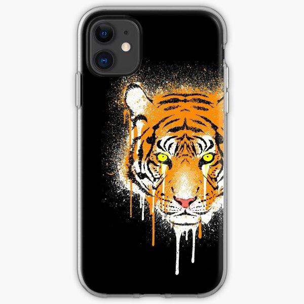 Graffiti Tiger iPhone Soft Case