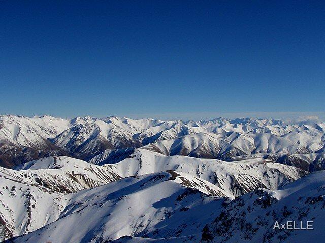 Peaks Of Methven by AxELLE