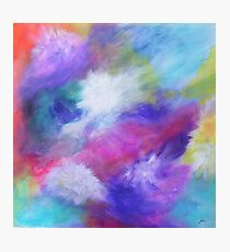 Abstract rainbow glow Photographic Print