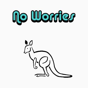 No Worries-Kangaroo by foxyphotography