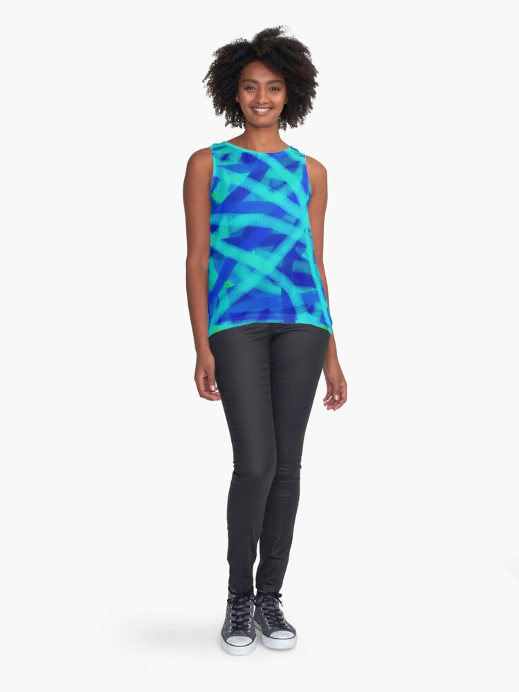Alternate view of Electric Sleeveless Top