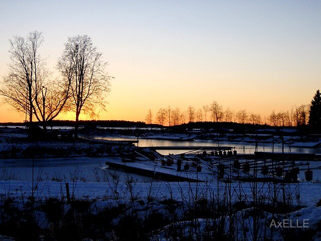Umea Sunset by AxELLE