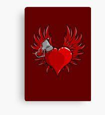 Heart Bomb Canvas Print