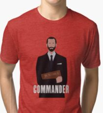 The Handmaids Tale The Commander Tri-blend T-Shirt