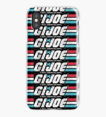 GI Joe Real American Hero 80's Cartoon Faded Distressed Vintage iPhone Case