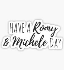 Romy & Michele Sticker