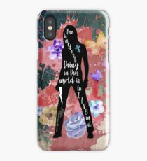 Buffy Quote iPhone Case