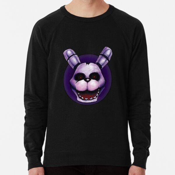 Bonnie, the Friendly Bunny... Lightweight Sweatshirt