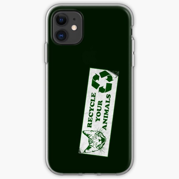 Recycle your Animals - Fight Club iPhone Soft Case