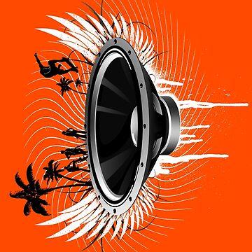 Fahr den Bass! - B & W von RevolutionGFX
