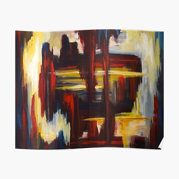 Untitled Abstract Poster