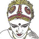 नर्तकी (Classical Dancer) by Aarathi Somarajan