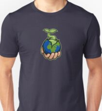 The world is in your hands Unisex T-Shirt
