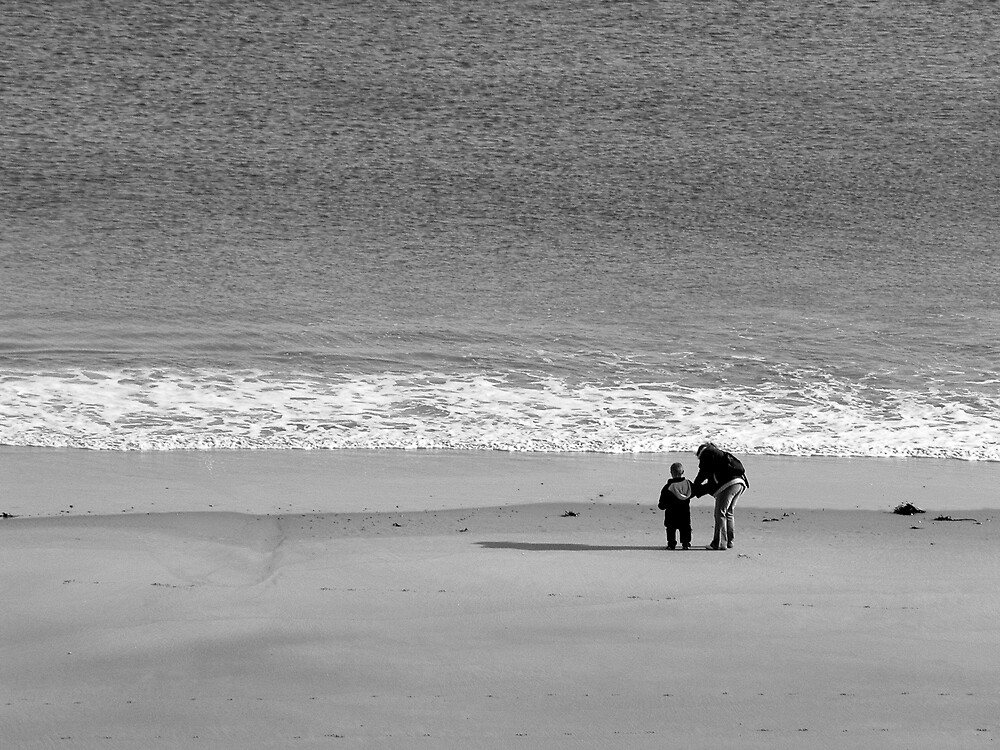 Beach fun in winter by Michelle Secombe