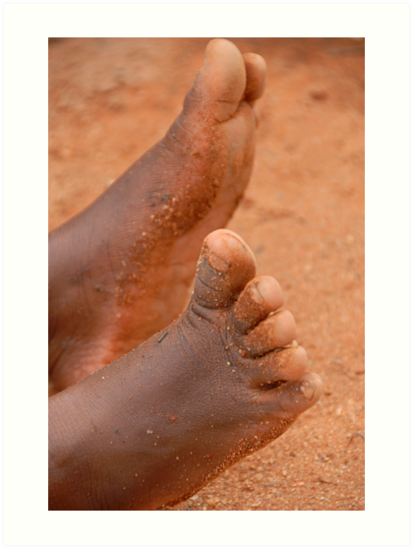 Little feet by Hannah Millerick